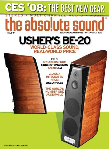 USHER'S BE-20 - Usher Audio