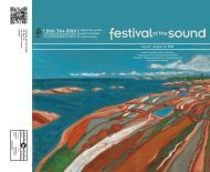 2012 Festival of the Sound Brochure