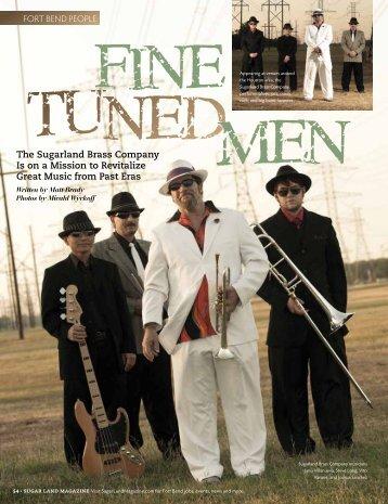 Fine Tuned Men - Sugar Land Magazine