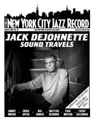 jack dejohnette sound travels - The New York City Jazz Record