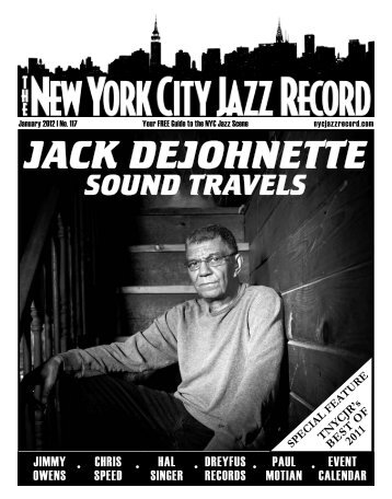jack dejohnette sound travels - The New York City Jazz Record