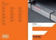 Hydraulic 24V operator for swing-leaf gates - Faac
