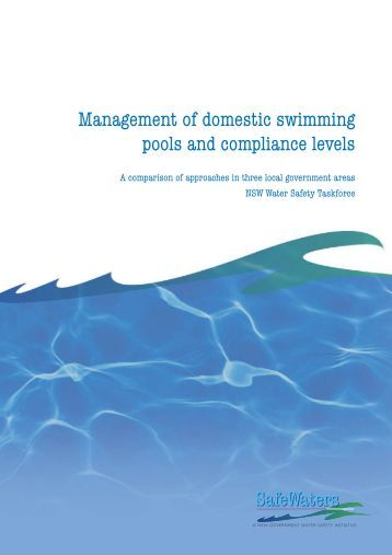 Swimming pool inspection reports show frequent sanitation - Domestic swimming pools ...