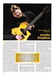 als PDF zum Download - Joscho Stephan