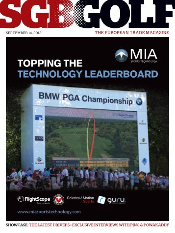 SGB Golf September Issue - Link