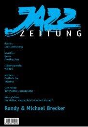 Moers, Floating Jazz städte-portrait: Weiden medien - Jazzzeitung