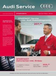 Audi Service - AVEG Linz-Leonding