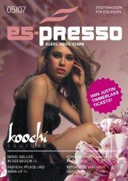 Download Ausgabe 05.2007 - Es-Presso