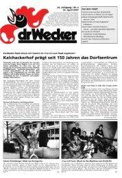 Kalchackerhof prägt seit 150 Jahren das Dorf Zentrum - DigiBern