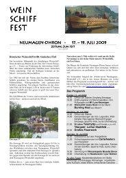 Zeitung Site - Neumagen-Dhron