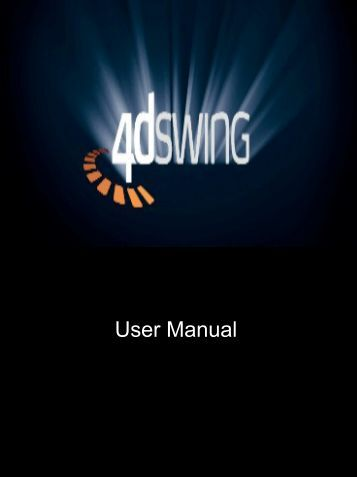 User Manual - 4DSwing