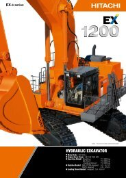 EX1200-6 - Hitachi Construction Machinery