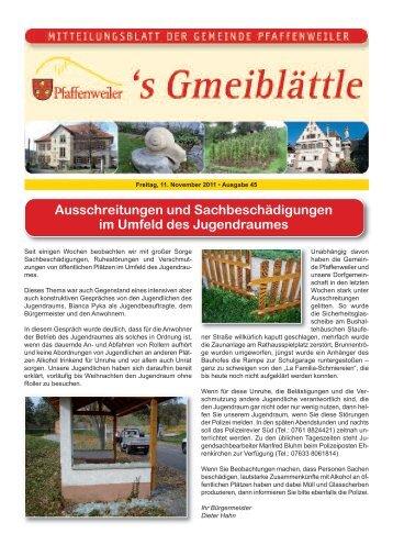 Ausschreitungen und Sachbeschädigungen im ... - Suedlicht GmbH