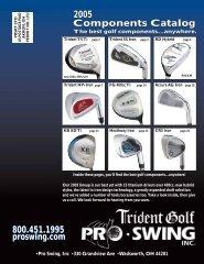 Trident Model RD Irons - Pro-Swing