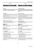 Installation instructions Montageanweisung Stativgerät ... - Welch Allyn - Page 3