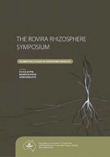 Rovira Rhizosphere Symposium - The Crawford Fund