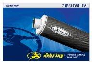 News 40 2007 Yamaha TDM 900 ab 02 _ inkl. Mod. 07_ ... - Sebring