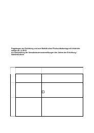 Fragebogen zur Errichtung und zum Betrieb einer ... - Finanzamt
