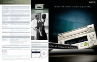DVO-1000MD - Sony