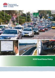 NSW Road Noise Policy - Department of Environment and Climate ...