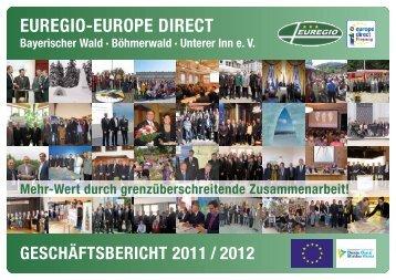 EUREGIO-Geschäftsbericht 2011-2012 - Euregio Bayerischer Wald