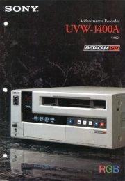 uvw1400a - David J. Woods Productions Inc.