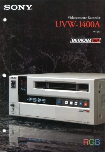 uvw1400a - David J. Woods Productions Inc.