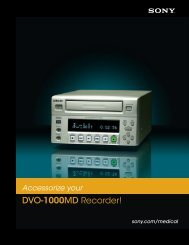 DVO-1000MD Recorder! - Sony