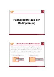 Fachbegriffe aus der Radioplanung - RMS - Austria