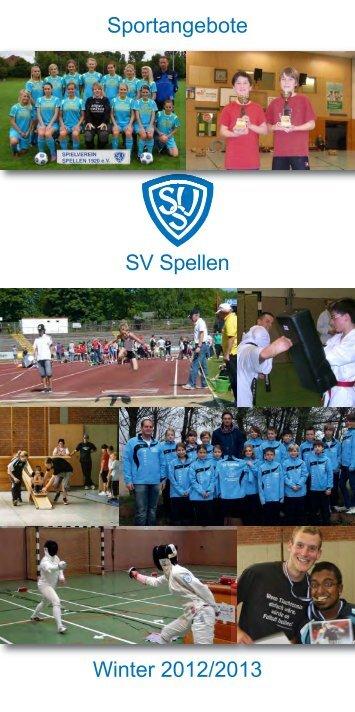 Sportangebote SV Spellen Herbst/Winter 2012 - SV Spellen 1920 eV