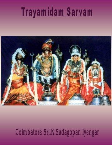 Trayamidam Sarvam - Ibiblio