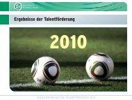 Ergebnisse Der Talentförderung 2010 - im Spiel