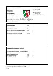 Geschäftsverteilungsplan 1. Januar 2013 - Finanzamt Dortmund-Unna