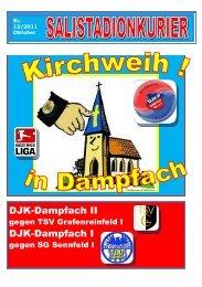 Stadionkurier Nr. 12/2011 Saison 2011-2012 - DJK Dampfach