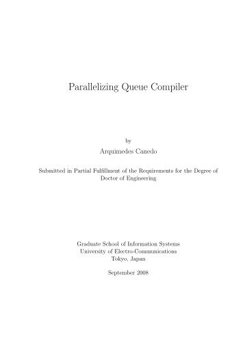 Parallelizing Queue Compiler