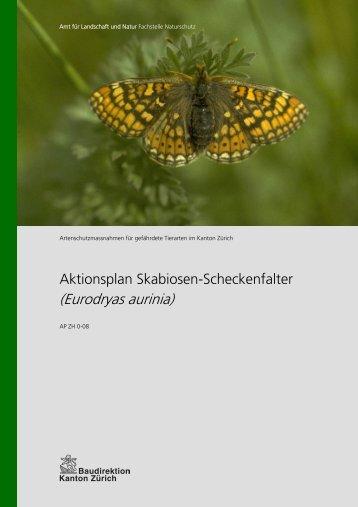 Aktionsplan Skabiosen-Scheckenfalter (PDF, 382 kB) - Amt für ...