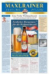 """""""Preis der Besten"""" in Silber für die SCHLOSS - Maxlrainer"""