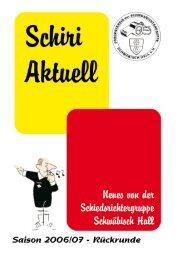 Ausgabe Rückrunde (2,9 MB) - Schiedsrichtergruppe Schwäbisch Hall