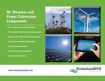 RF, Wireless and Power Conversion Components - Richardson RFPD