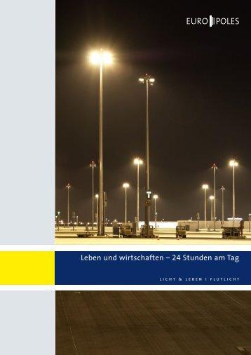 Broschüre Flutlicht - Europoles