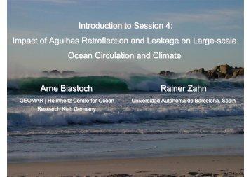 Impact of Agulhas Retroflection and Leakage on Large