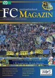 FC CARL ZEISS JENA - 1. FC Saarbrücken