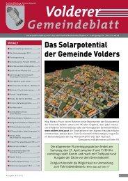 (5,52 MB) - .PDF - Gemeinde Volders - Land Tirol
