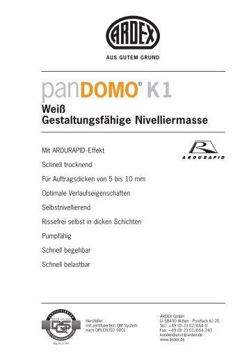 Datenblatt - SVF Steinveredelung Finsterwalde GmbH