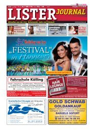 Lister Journal 11 2010 - Oldies Hannover