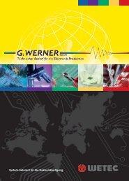 wetec 2012/13 - G.Werner GmbH
