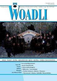 Woadli Nr. 65 - Dezember 2012.pdf - Gemeinde Arzl im Pitztal ...