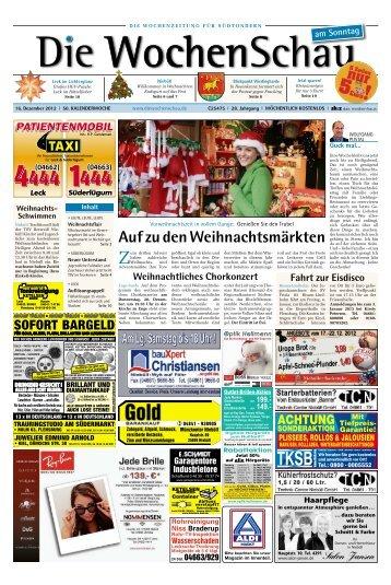 AufzudenWeihnachtsmärkten - Die Wochenschau