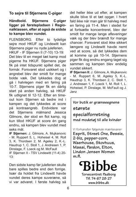 Hándbold - IF Stjernen Flensborg