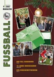 Shfv 4-2007 - Schleswig-Holsteinischer Fussballverband eV